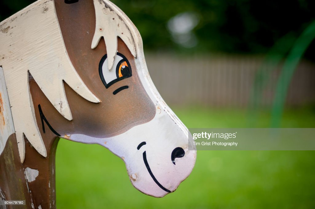 Rocking Horse Head High Res Stock Photo Getty Images