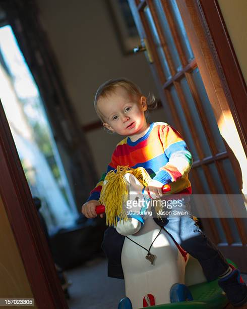 rocking horse - s0ulsurfing stock pictures, royalty-free photos & images