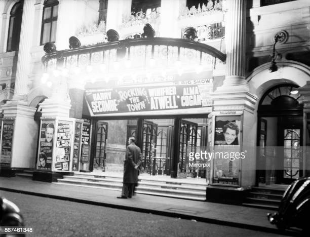 Rocking the Town starring Harry Secombe Winifred Atwell and Alma Cogan at The London Palladium 27th November 1956