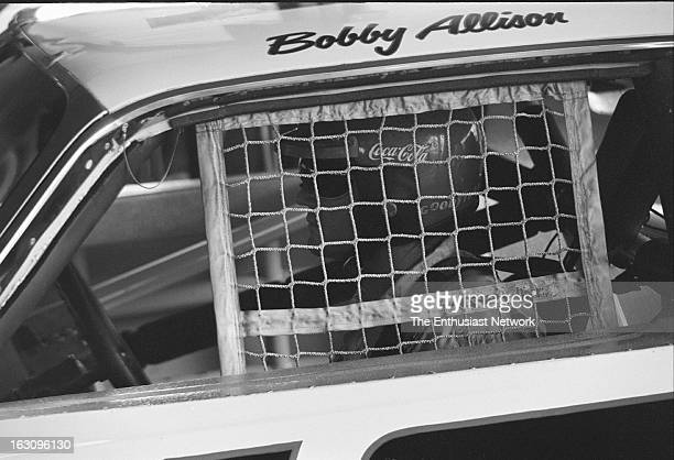 Rockingham Bobby Allison of Penske Racing sits in his AMC Matador