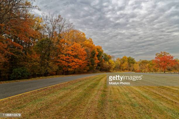 rockland lake road - northeast stock photos and pictures
