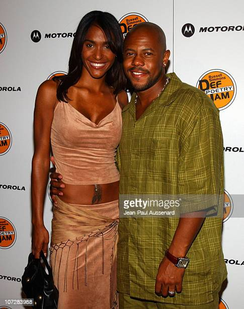 Rockmond Dunbar and Ivy Holmes during Russell Simmons and Stan Nathan Host Def Poetry Jam Los Angeles Kick Off For 32 City Tour Arrivals at Wadsworth...