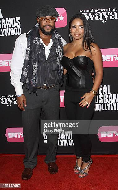 Rockmond Dunbar and May Gilbert attend BET Networks Premiere Screenings of Real Husbands of Hollywood and Second Generation Wayans at Regal Cinemas...