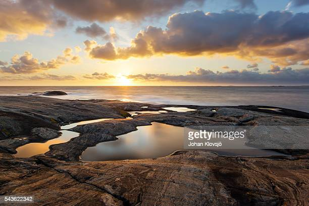 Rockpool at Sunset