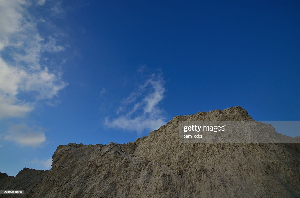 rocks and blue sky : Stock Photo