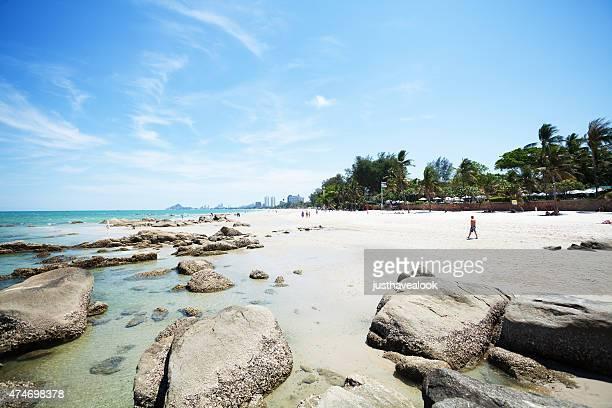 Rocks et de la plage de Hua Hin, en Thaïlande