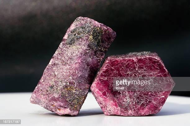 Rocks and Minerals - Corundum Ruby