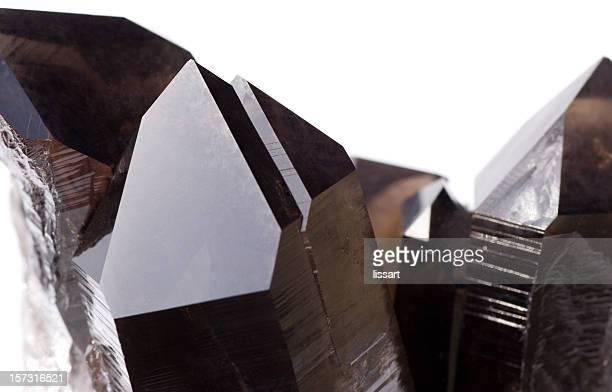 Steine und Mineralien Rauchquarz (Irradiated) 2