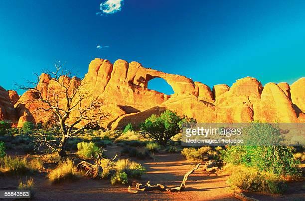 Rocks formation at Arches National Park, Utah, USA