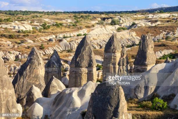 Rocks formations in Capadocia