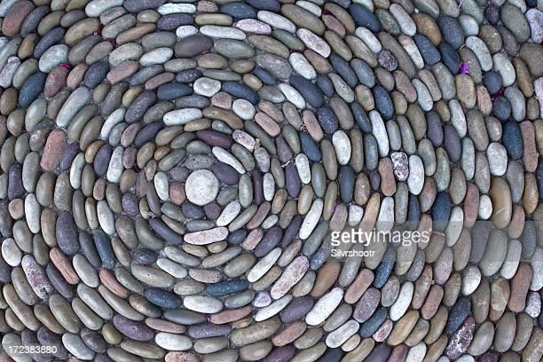 Rocks in einem Kreis