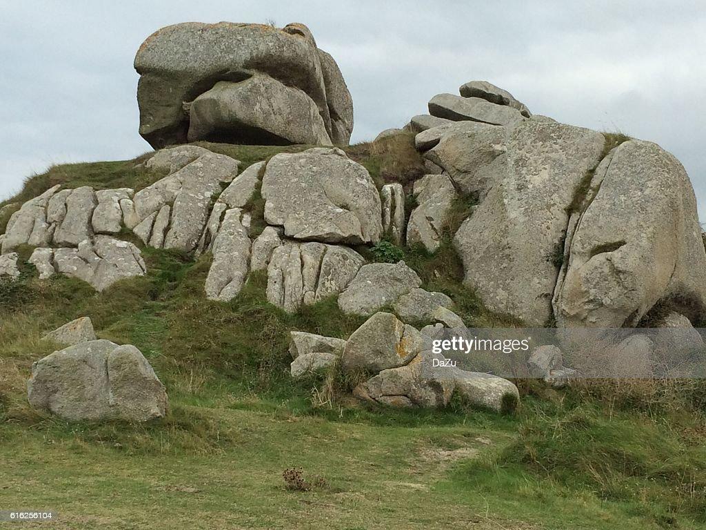 Rocks en Gran Bretaña : Foto de stock