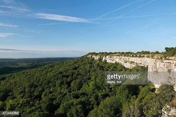rocks near saint romain, burgundy, france - côte d'or bildbanksfoton och bilder