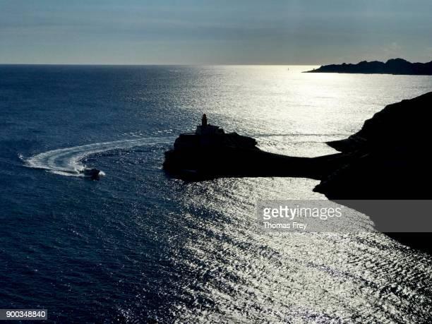 Rocks of the cliff line at Bonifacio, Bonifacio, Corsica, France