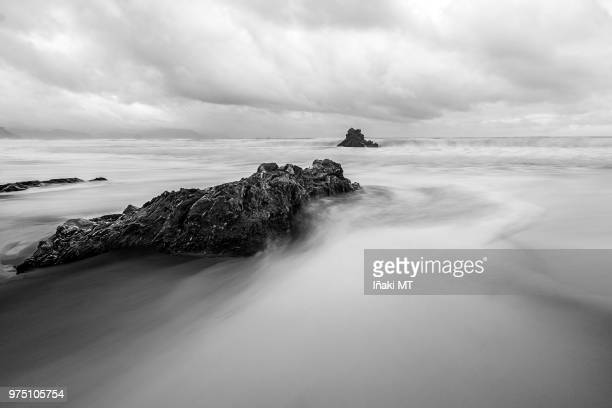 Rocks on Cantabrian Sea