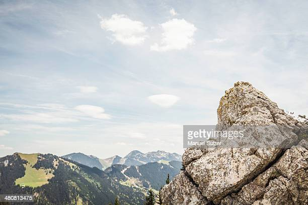 Rocks on Mt Wallberg, Bavaria, Germany