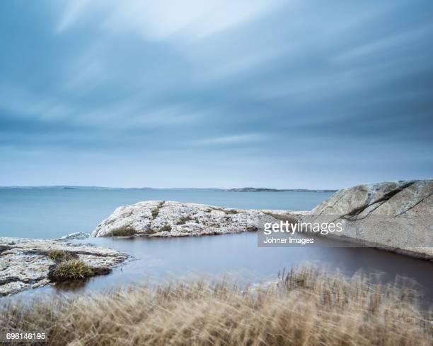 Rocks on sea coast