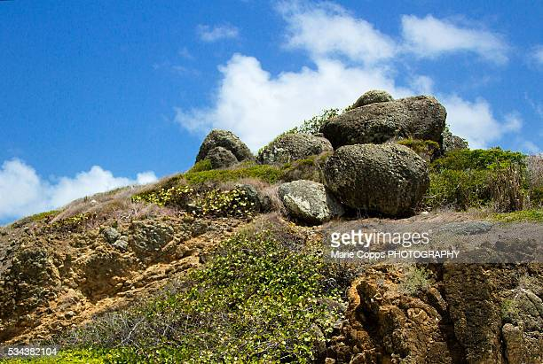 Rocks on top of a hill