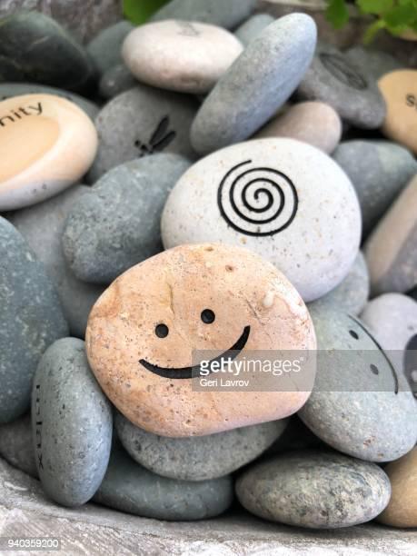 Rocks with design on them