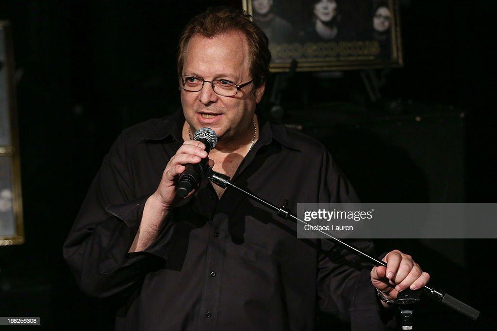 Rockwalk director Dave Weiderman attends the Goo Goo Dolls induction into Guitar Center's historic RockWalk at Guitar Center on May 7, 2013 in Hollywood, California.