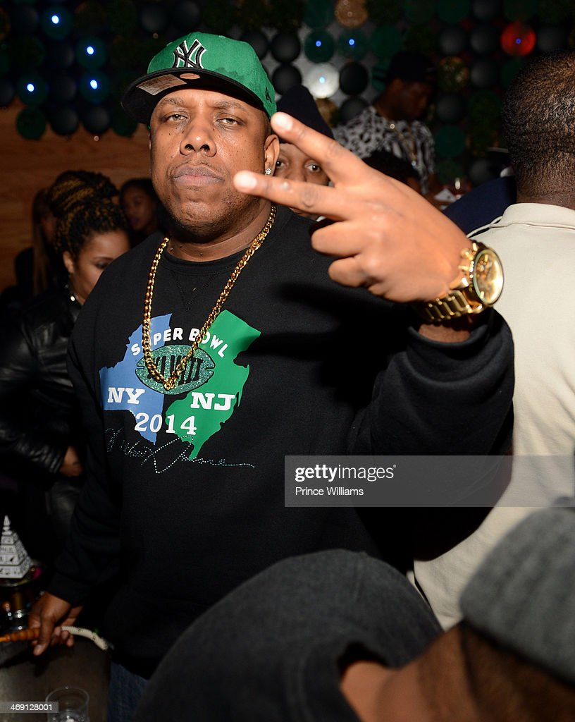 Rockwilder attends Young Jeezy And Victor Cruz's Post Super Bowl Party at Greenhouse on February 2, 2014 in New York City.