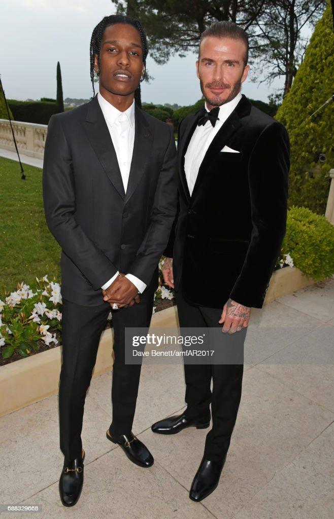 a57451a9d1e Rocky and David Beckham arrive at the amfAR Gala Cannes 2017 at ...