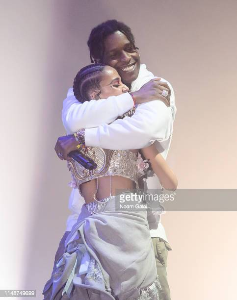 Rocky and FKA twigs perform in concert at Park Avenue Armory on May 12 2019 in New York City