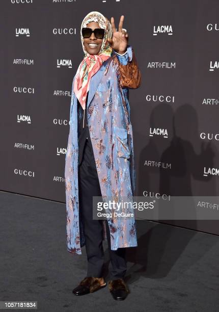 Rocky arrives at the 2018 LACMA Art Film Gala at LACMA on November 3 2018 in Los Angeles California