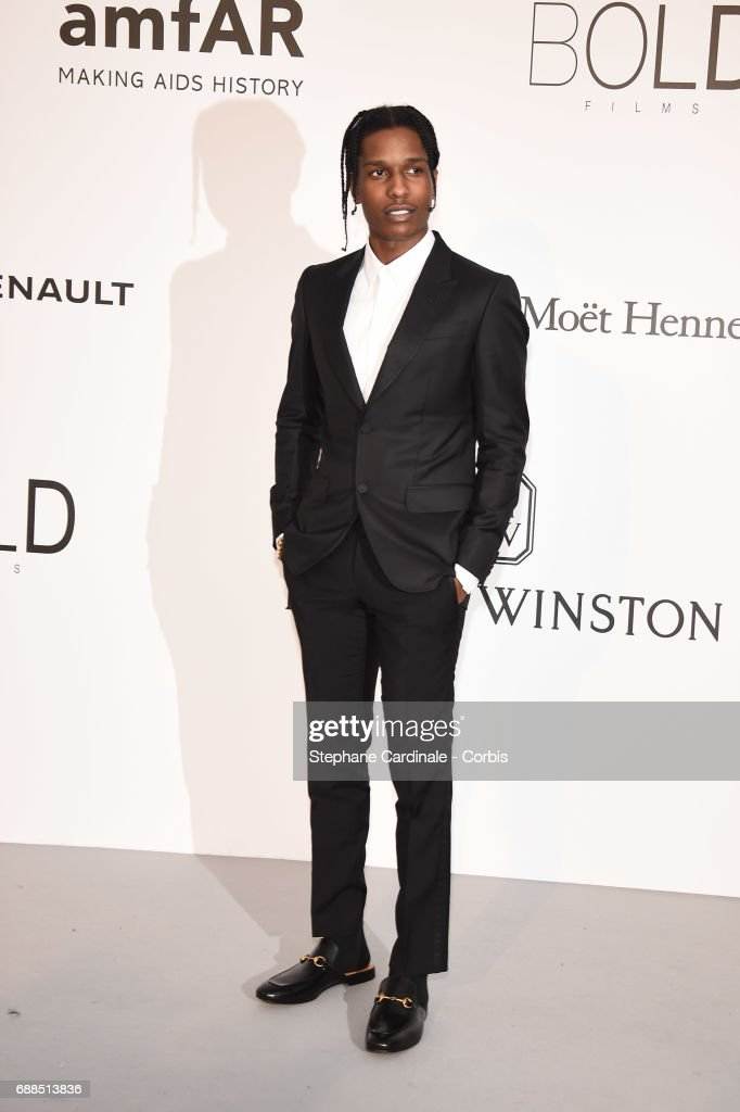 1ae5298da7a Rocky arrives at the amfAR Gala Cannes 2017 at Hotel du Cap-Eden-Roc ...