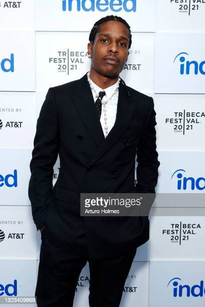"""Rocky attends 2021 Tribeca Festival Premiere of """"Stockholm Syndrome""""at Battery Park on June 13, 2021 in New York City."""