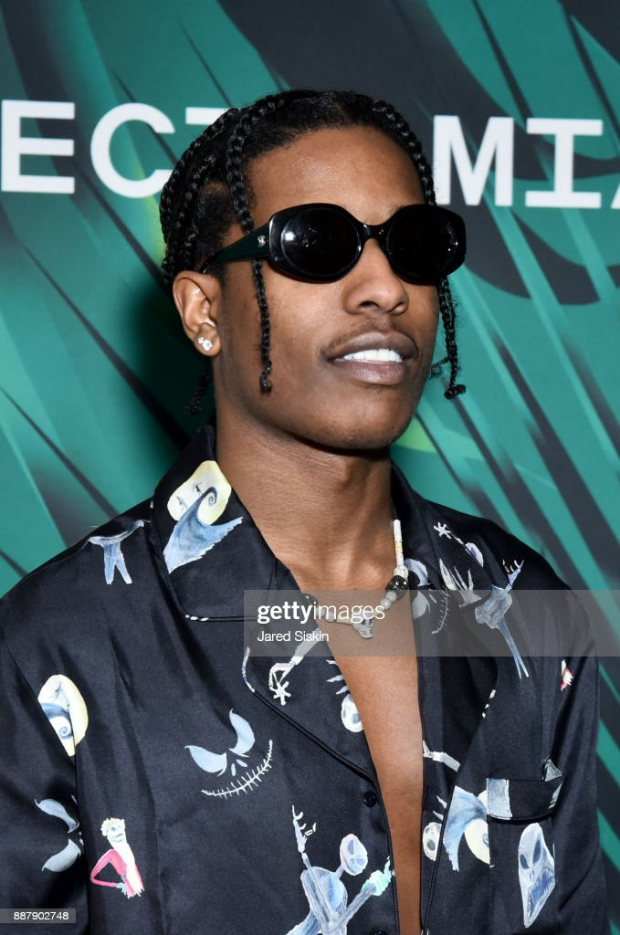 Rocky attends Artsy Projects Miami VIP at The Bath Club on December 6, 2017 in Miami Beach, Florida.