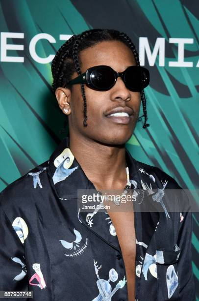 Rocky attends Artsy Projects Miami VIP at The Bath Club on December 6 2017 in Miami Beach Florida