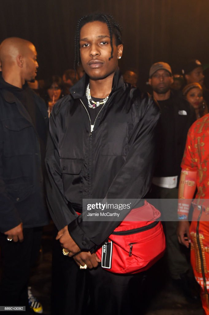 Rocky attends BACARDI, Swizz Beatz and The Dean Collection bring NO COMMISSION back to Miami to celebrate 'Island Might' at Soho Studios on December 9, 2017 in Miami, Florida.