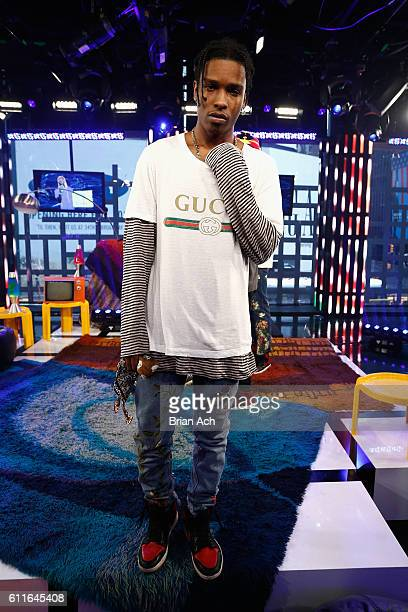 Rocky attends MTV Studios on September 30 2016 in New York City