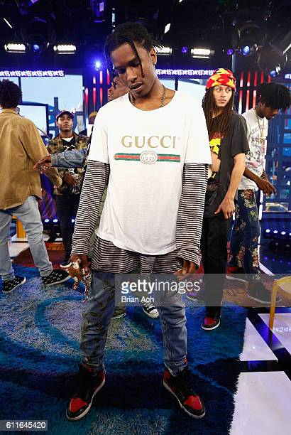 Rocky attends MTV Studios on September 30 2016 in New York City