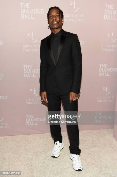 Rocky attends Rihanna's 4th Annual Diamond Ball benefitting The Clara Lionel Foundation at Cipriani Wall Street on September 13 2018 in New York City