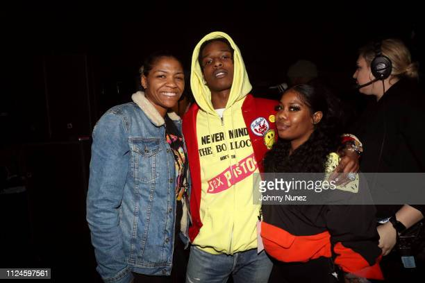 Rocky attends Stoop Talks with A$AP Rocky Dapper Dan at Terminal 5 on February 12 2019 in New York City