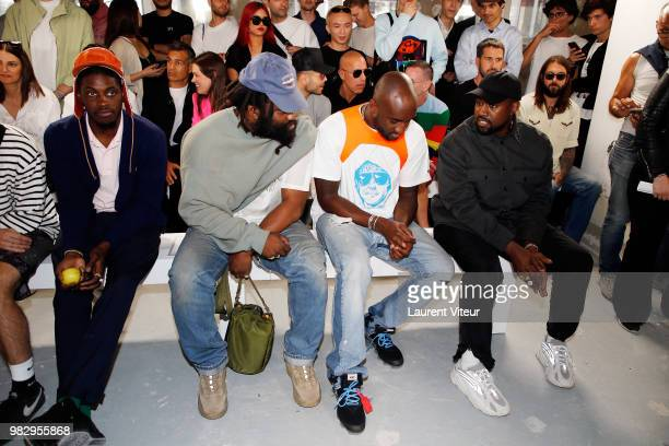 Rocky attends the 1017 ALYX 9SM Menswear Spring/Summer 2019 show as part of Paris Fashion Week on June 24 2018 in Paris France
