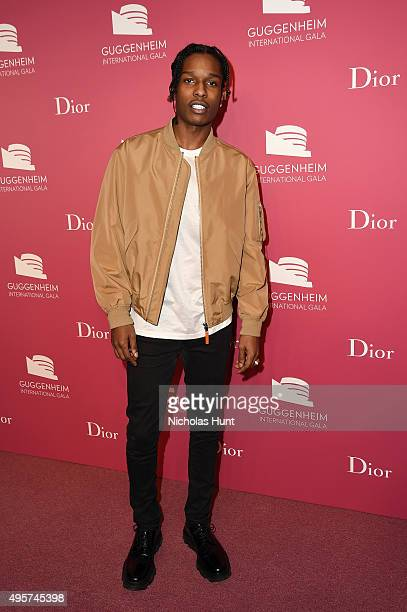 Rocky attends the 2015 Guggenheim International Gala PreParty made possible by Dior at Solomon R Guggenheim Museum on November 4 2015 in New York City