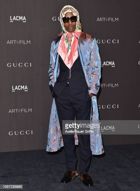Rocky attends the 2018 LACMA Art Film Gala at LACMA on November 03 2018 in Los Angeles California