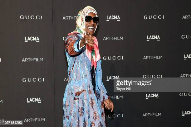 Rocky attends the 2018 LACMA ArtFilm Gala at LACMA on November 3 2018 in Los Angeles California