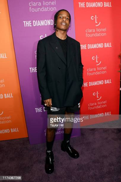 Rocky attends the 5th Annual Diamond Ball benefiting the Clara Lionel Foundation at Cipriani Wall Street on September 12, 2019 in New York City.