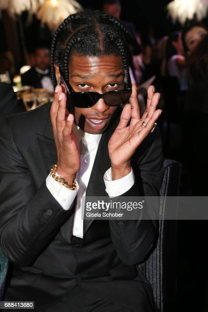 ASAP Rocky attends the amfAR Gala Cannes 2017 at Hotel du CapEdenRoc on May 25 2017 in Cap d'Antibes France