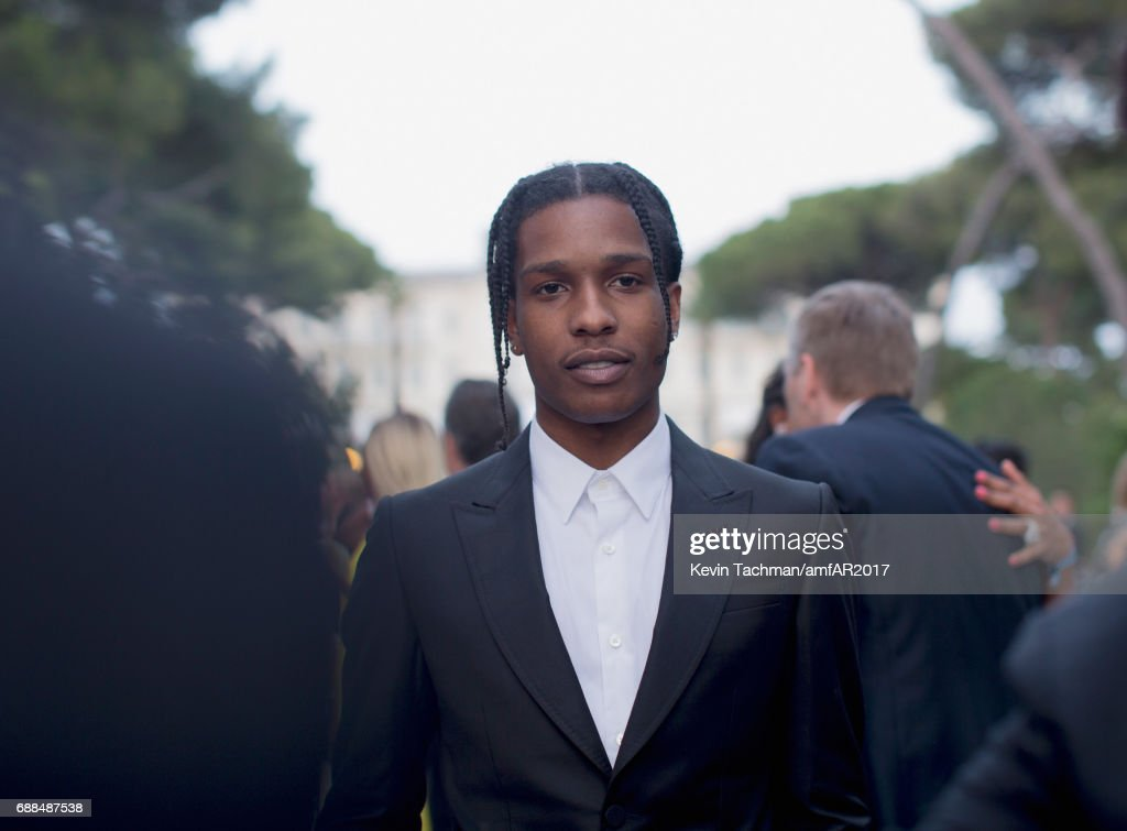 cac6fa33684 Rocky attends the amfAR Gala Cannes 2017 at Hotel du Cap-Eden-Roc on ...