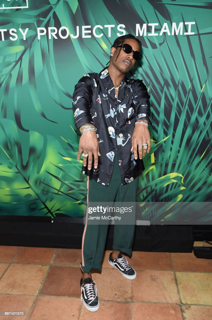 Rocky attends the Artsy Projects Miami x Gucci: Special Thanks to Bombay Sapphire at The Bath Club on December 6, 2017 in Miami Beach, Florida.