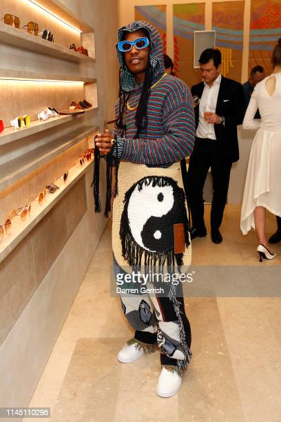 Rocky attends the CASA LOEWE New Bond Street opening on April 25 2019 in London England