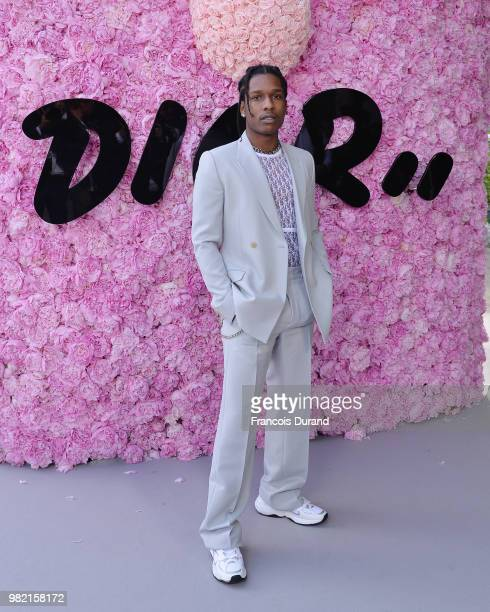c604ff753a Rocky attends the Dior Homme Menswear Spring Summer 2019 show as part of  Paris Fashion