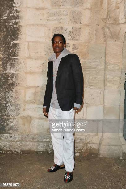 Rocky attends the Gucci Cruise 2019 show at Alyscamps on May 30 2018 in Arles France