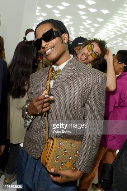 Rocky attends the Gucci show during Milan Fashion Week Spring/Summer 2020 on September 22, 2019 in Milan, Italy.