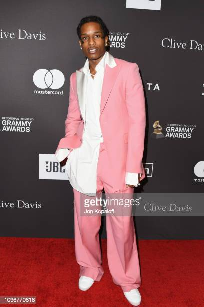 Rocky attends The Recording Academy And Clive Davis' 2019 PreGRAMMY Gala at The Beverly Hilton Hotel on February 9 2019 in Beverly Hills California